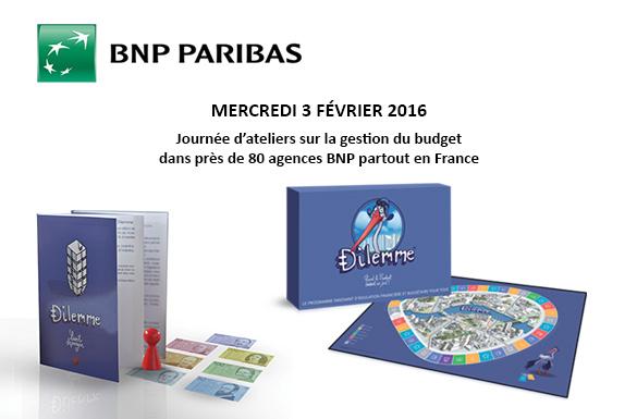 atelier jeu dilemme BNP